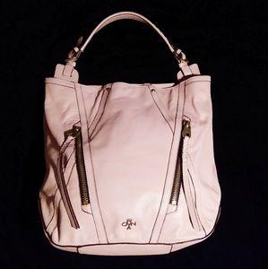 Oryany Blush Pink Leather Handbag🌸